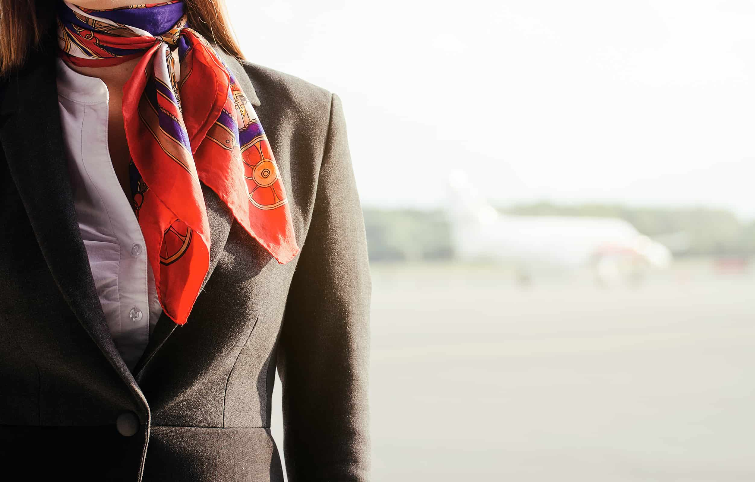 toxic airline uniform